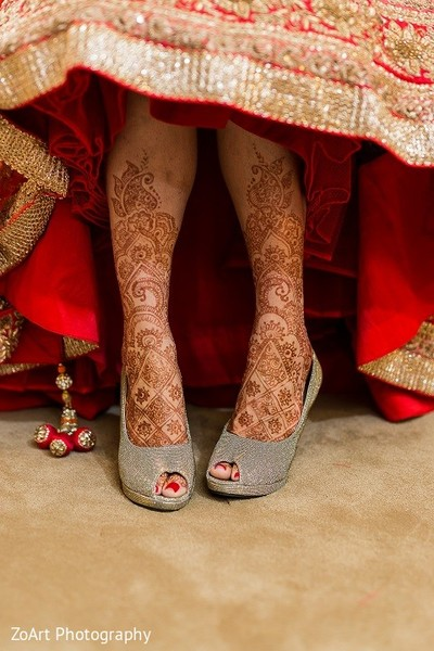 Mehndi in Glendale, CA Indian Wedding by ZoArt Photography
