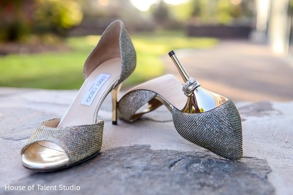 Shoes in Melville, NY Indian Wedding by House of Talent Studio