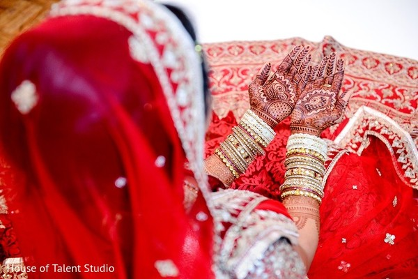 Mehndi in Melville, NY Indian Wedding by House of Talent Studio