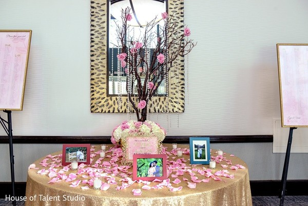 Floral & Decor in Melville, NY Indian Wedding by House of Talent Studio