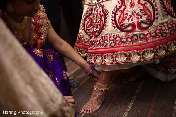 Getting Ready in Tampa, FL Indian Wedding by Haring Photography