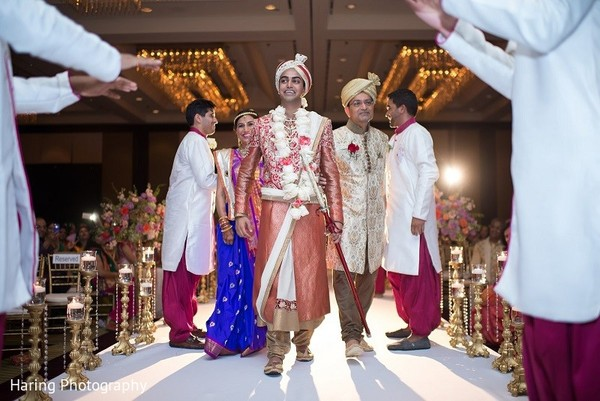 Ceremony in Tampa, FL Indian Wedding by Haring Photography