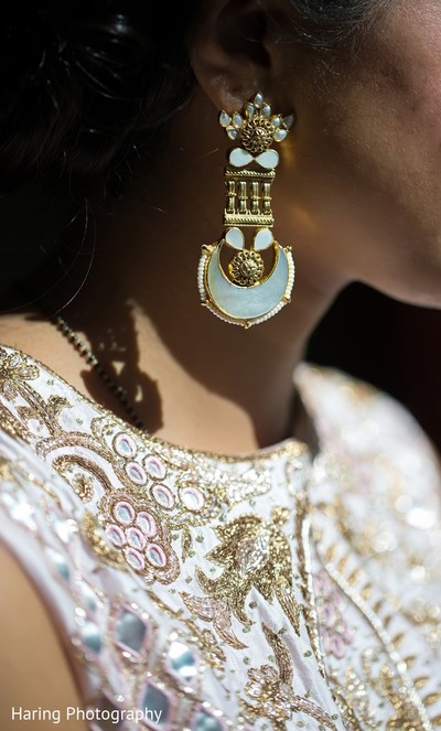 Bridal Jewelry in Tampa, FL Indian Wedding by Haring Photography