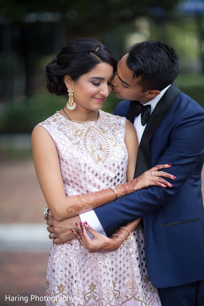 Reception Portrait in Tampa, FL Indian Wedding by Haring Photography