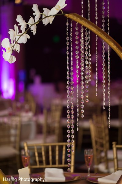 Floral & Decor in Tampa, FL Indian Wedding by Haring Photography