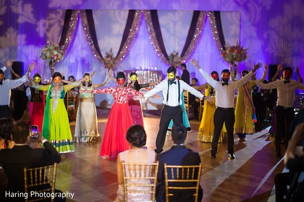 Reception in Tampa, FL Indian Wedding by Haring Photography