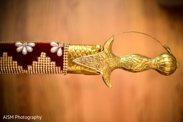 Kirpan in Silver Spring, MD Sikh Wedding by AISM Photography