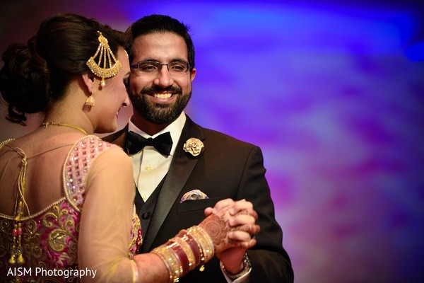 Reception in Silver Spring, MD Sikh Wedding by AISM Photography
