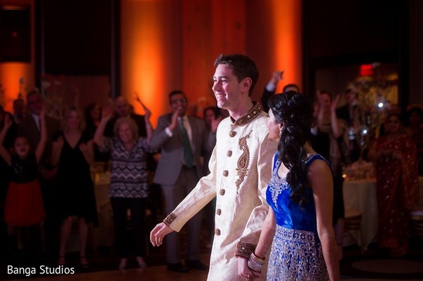 Reception in New Brunswick, NJ Indian Fusion Wedding by Banga Studios