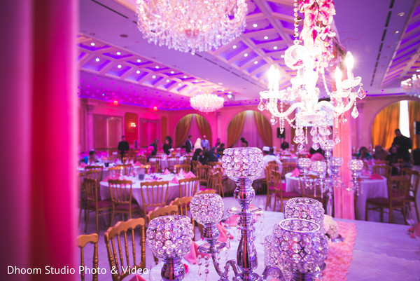 Floral & Decor in Queens, NY South Asian Wedding by Dhoom Studio Photo & Video