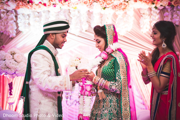 Reception in Queens, NY South Asian Wedding by Dhoom Studio Photo & Video