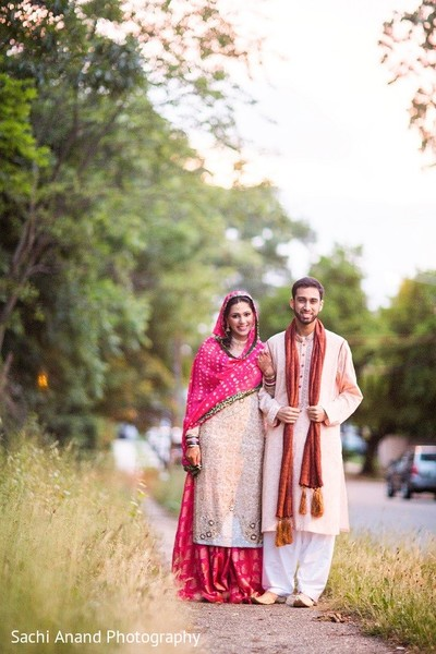Nikah Portrait in Uniondale, NY Pakistani Wedding by Sachi Anand Photography