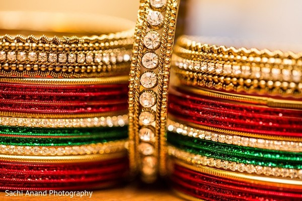 Bridal Jewelry in Uniondale, NY Pakistani Wedding by Sachi Anand Photography