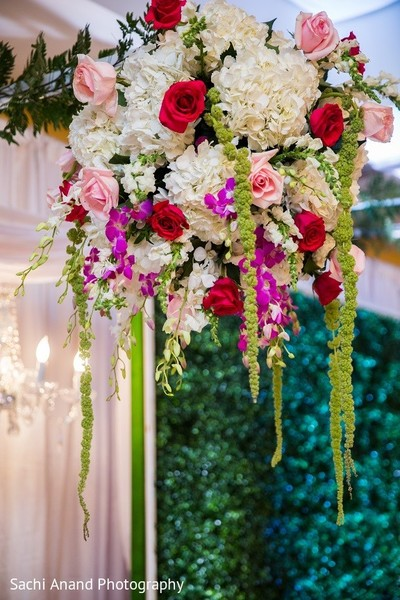 Ceremony Decor in Uniondale, NY Pakistani Wedding by Sachi Anand Photography