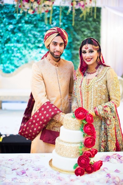 Ceremony in Uniondale, NY Pakistani Wedding by Sachi Anand Photography