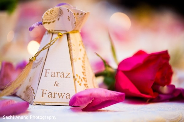 Favors in Uniondale, NY Pakistani Wedding by Sachi Anand Photography