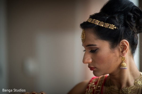 Hair in New Brunswick, NJ Indian Fusion Wedding by Banga Studios