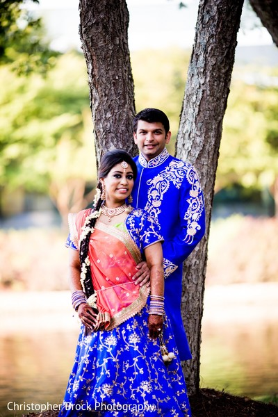 Pre wedding Portraits in Atlanta, GA Indian Wedding by Christopher Brock Photography