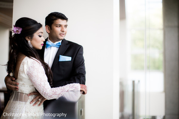Reception Portraits in Atlanta, GA Indian Wedding by Christopher Brock Photography