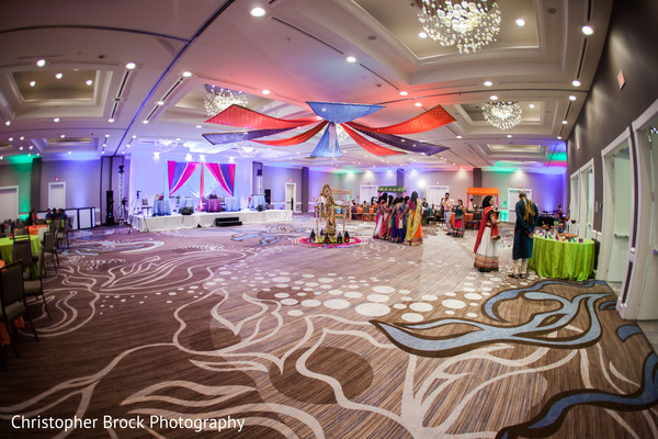 Pre-wedding decor in Atlanta, GA Indian Wedding by Christopher Brock Photography
