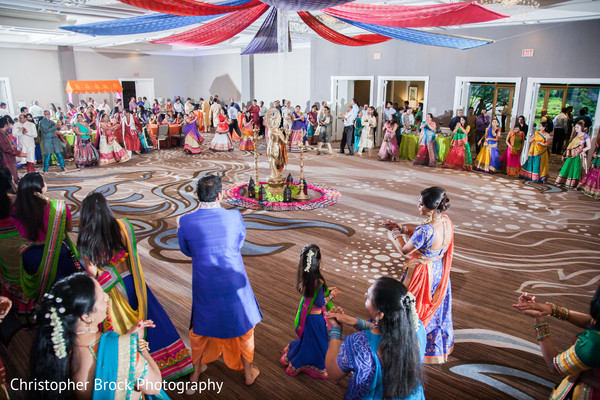 Garba in Atlanta, GA Indian Wedding by Christopher Brock Photography