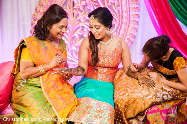 Mehndi Party in Atlanta, GA Indian Wedding by Christopher Brock Photography