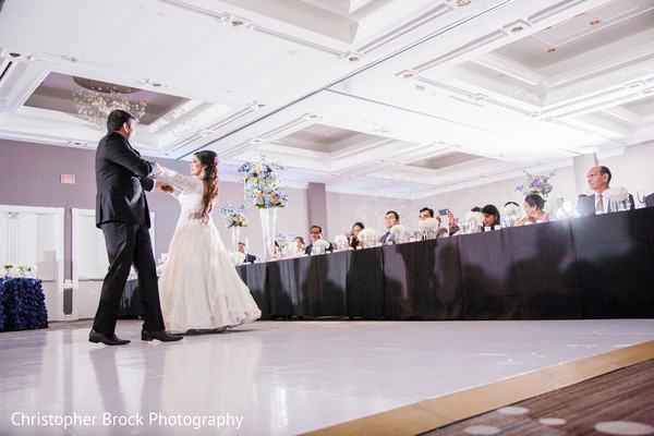 First Dance in Atlanta, GA Indian Wedding by Christopher Brock Photography