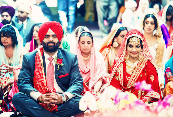 Sikh ceremony in Vancouver, BC Sikh Wedding by JC Images