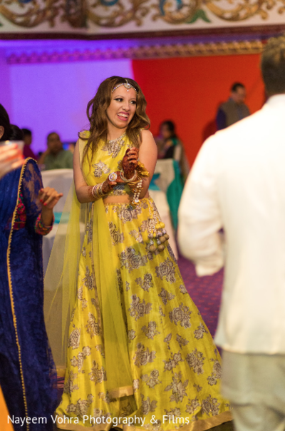 Pre-Wedding Celebration in Jersey City, NJ Indian Fusion Wedding by Nayeem Vohra Photography & Films