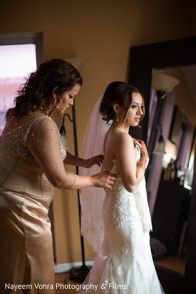 Getting Ready in Jersey City, NJ Indian Fusion Wedding by Nayeem Vohra Photography & Films