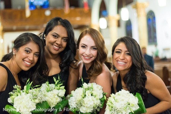 Ceremony in Jersey City, NJ Indian Fusion Wedding by Nayeem Vohra Photography & Films