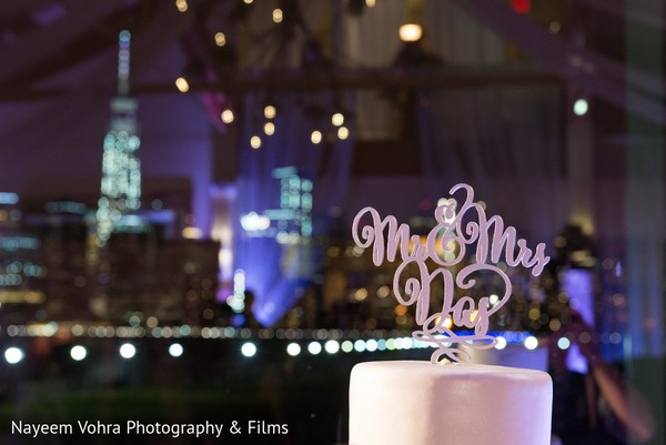 Cake Topper in Jersey City, NJ Indian Fusion Wedding by Nayeem Vohra Photography & Films