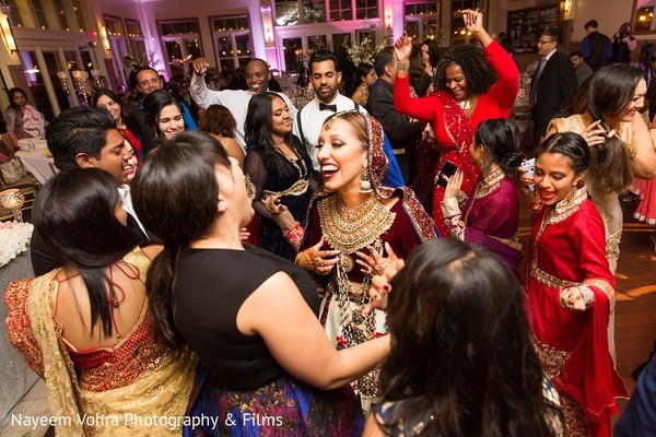 Reception in Jersey City, NJ Indian Fusion Wedding by Nayeem Vohra Photography & Films