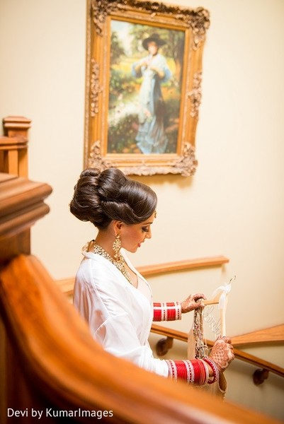 Getting Ready in Ontario, Canada Hindu-Sikh Fusion Wedding by Devi by KumarImages