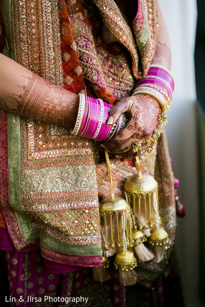 Bridal Jewelry in Los Angeles, CA Sikh Wedding by Lin & Jirsa Photography