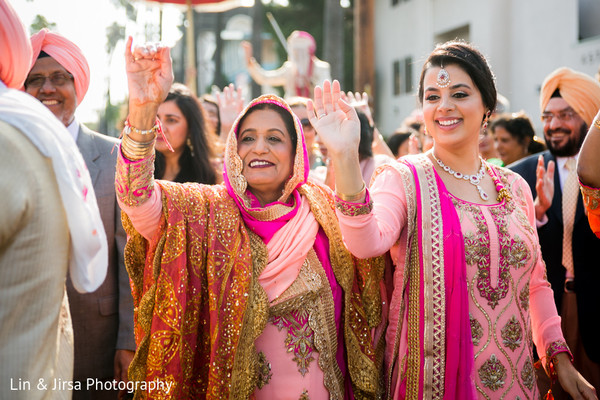 Baraat in Los Angeles, CA Sikh Wedding by Lin & Jirsa Photography