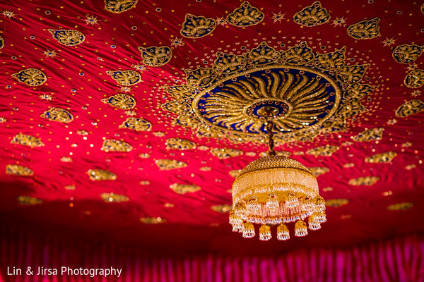 Ceremony Decor in Los Angeles, CA Sikh Wedding by Lin & Jirsa Photography