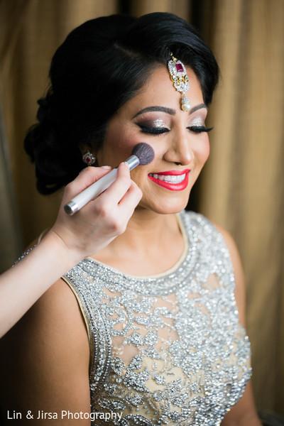 Indian Wedding Reception Makeup