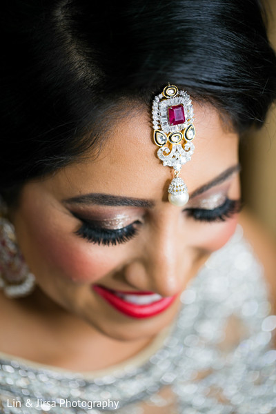 Makeup & Jewelry in Los Angeles, CA Sikh Wedding by Lin & Jirsa Photography