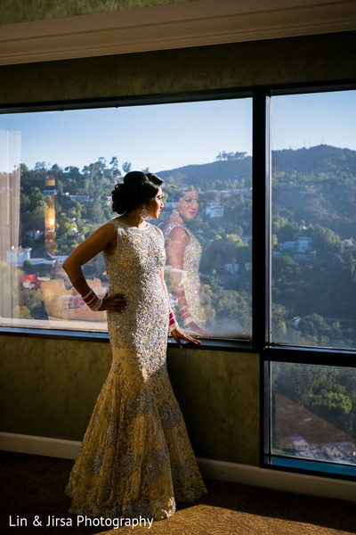 Getting Ready in Los Angeles, CA Sikh Wedding by Lin & Jirsa Photography