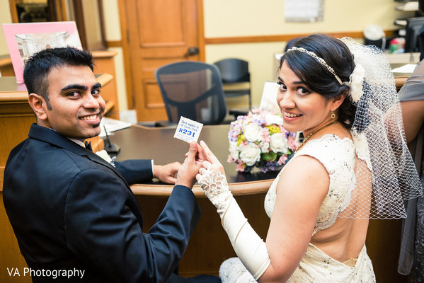 Indian fusion wedding ceremony in San Francisco, CA Indian Wedding by VA Photography