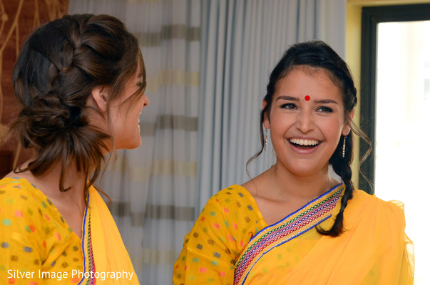 Bridal Party in Almonesson, NJ South Asian Fusion Wedding by Silver Image Photography