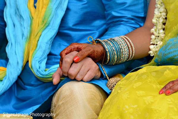 Gaye Holud in Almonesson, NJ South Asian Fusion Wedding by Silver Image Photography
