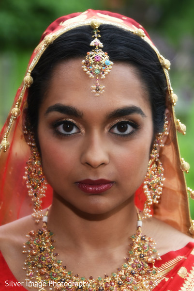 Makeup in Almonesson, NJ South Asian Fusion Wedding by Silver Image Photography