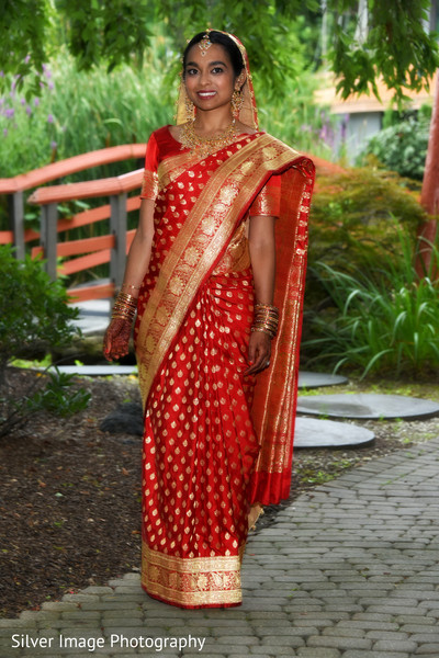 Bridal Fashion in Almonesson, NJ South Asian Fusion Wedding by Silver Image Photography