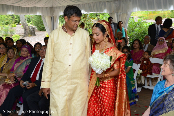 Ceremony in Almonesson, NJ South Asian Fusion Wedding by Silver Image Photography
