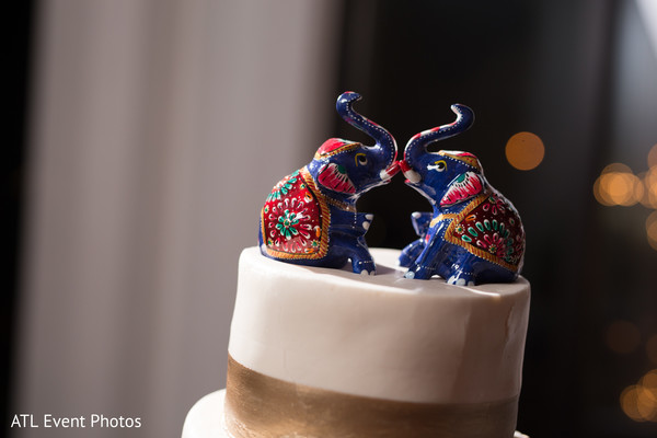 Wedding Cake Toppers in Atlanta, GA South Indian Fusion Wedding by ATL Event Photos
