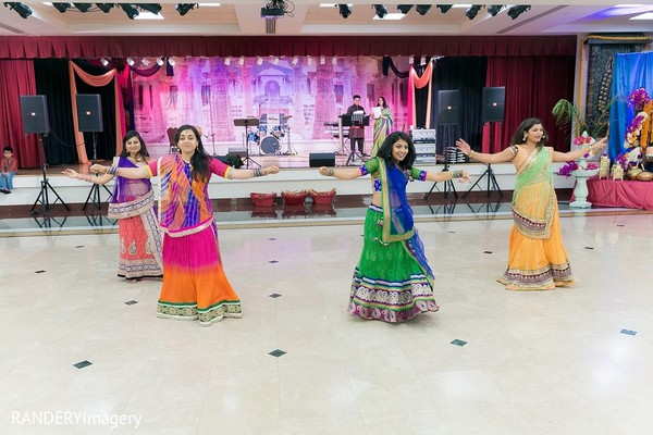 Garba in Long Beach, CA Indian Wedding by RANDERYimagery