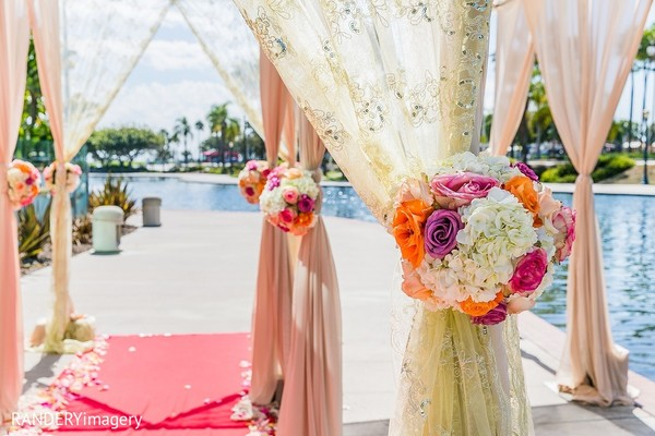 Wedding Decor in Long Beach, CA Indian Wedding by RANDERYimagery