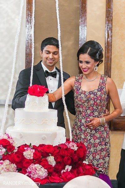 Reception in Long Beach, CA Indian Wedding by RANDERYimagery